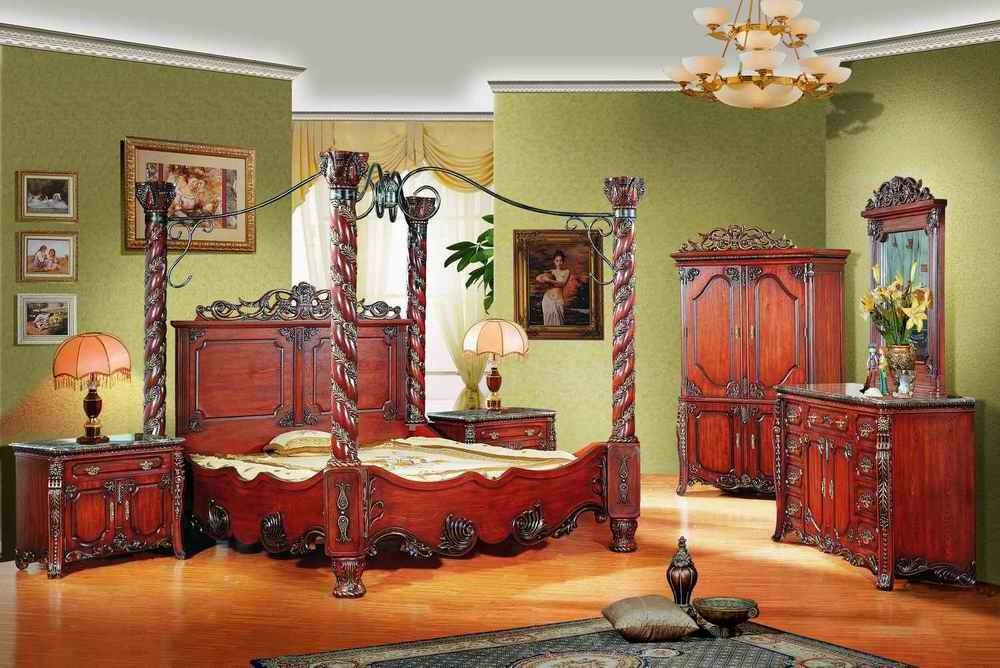 ... Bedroom Antique Furniture - China Antique Furniture, Classic Furniture