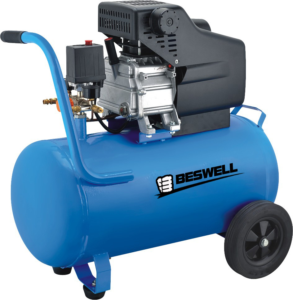 Tank Mounted - Oil Lubricated Air Compressors
