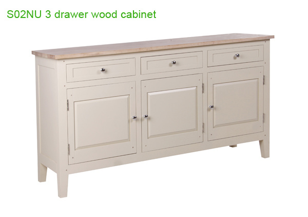 china white 3 door 3 drawer sideboards wooden sideboards china sideboards sideboard. Black Bedroom Furniture Sets. Home Design Ideas