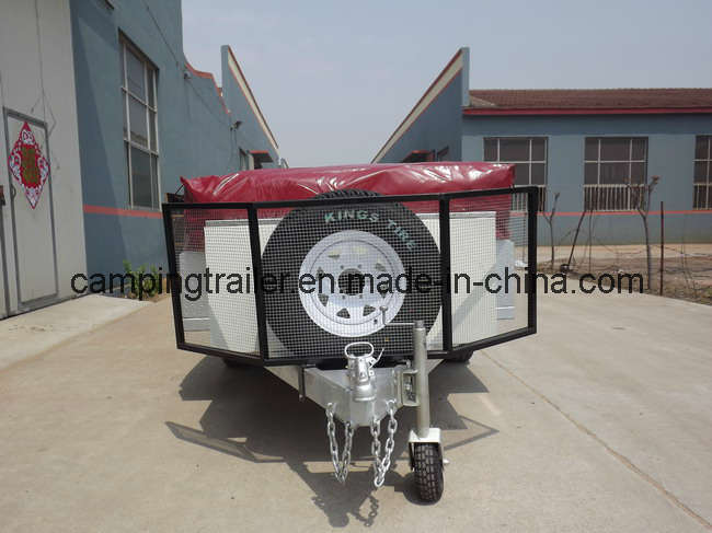Steel Checker Plate Soft Floor Tent Trailer (CT-D1)
