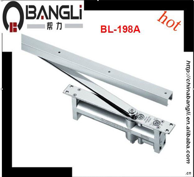 China Aluminum Alloy Concealed Door Closer Bl 198a
