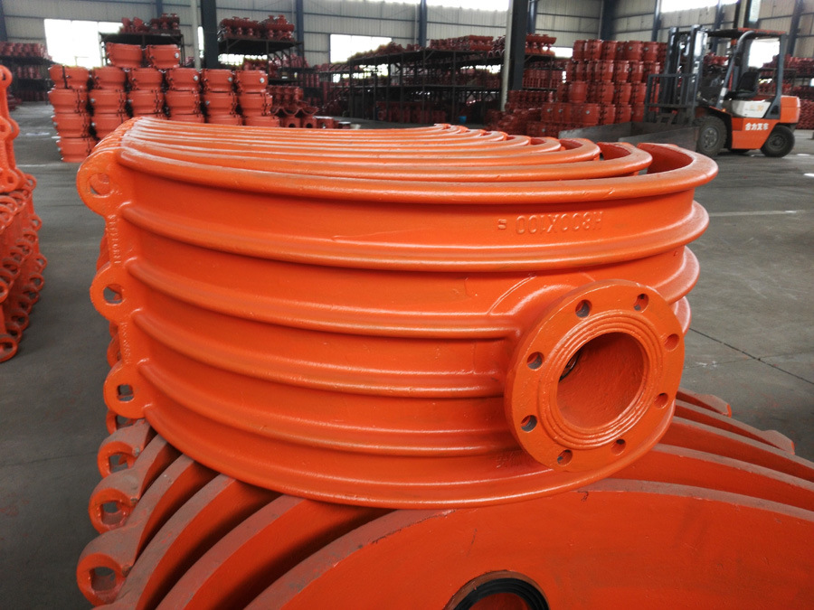 Pipe Hot Tapping Saddle H800X100, Branch Saddle for Cast Iron Pipe, Ductile Iron Pipe
