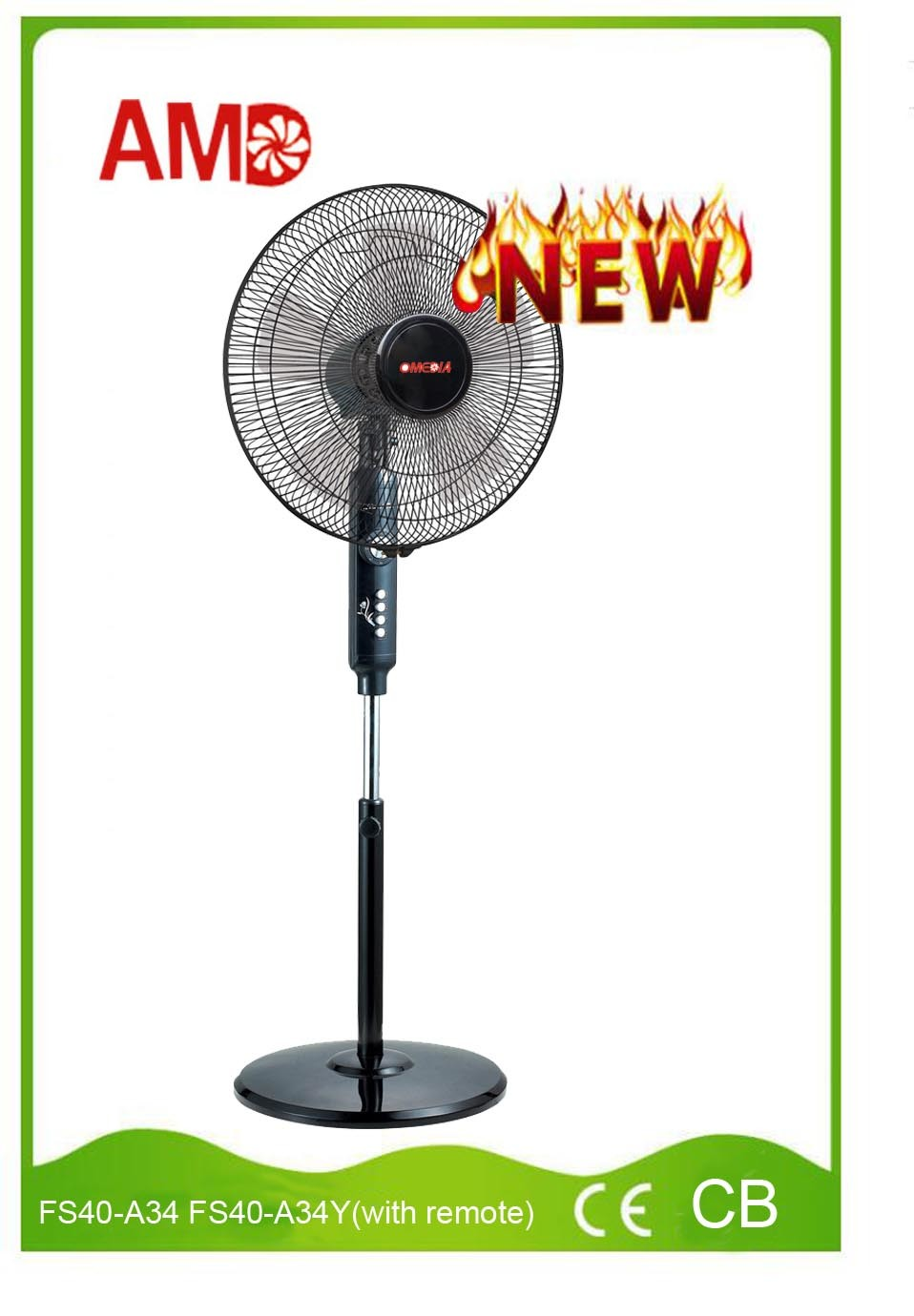 Hot-Selling Good Design Stand Fan Pedestal Fan (FS40-A34)