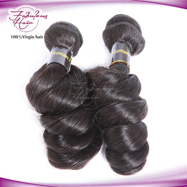Grade 8A Loose Wave 100% Virgin Brazilian Hair Extension