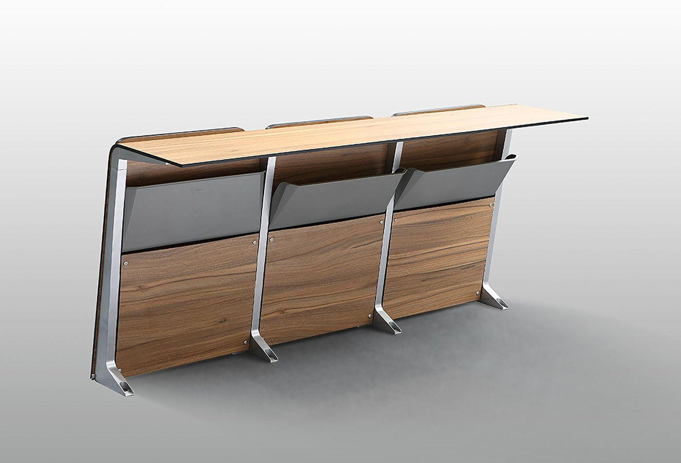 Aluminum School Classroom Student Chair
