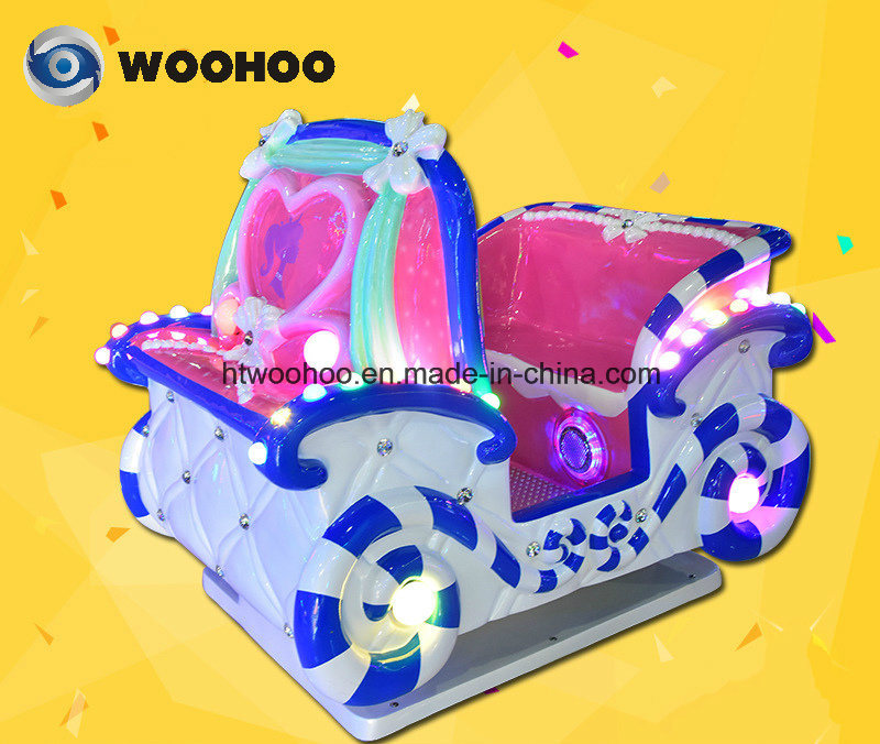 Indoor Playground Pricess′ Carriage Swing Wig Wag Machine