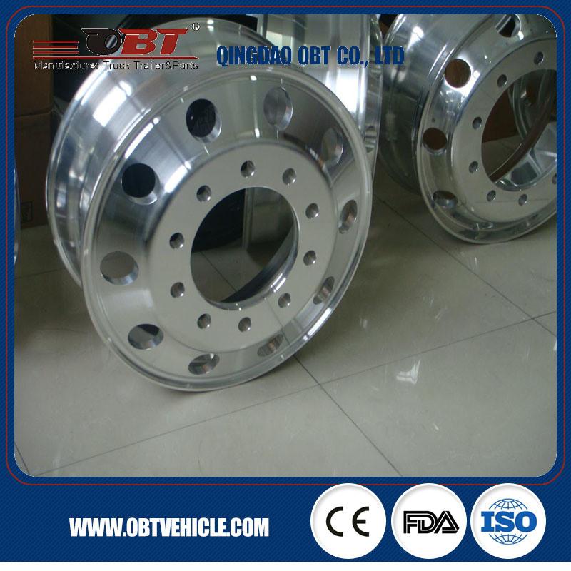 Good Performance Heavy Duty Aluminum Truck Wheel
