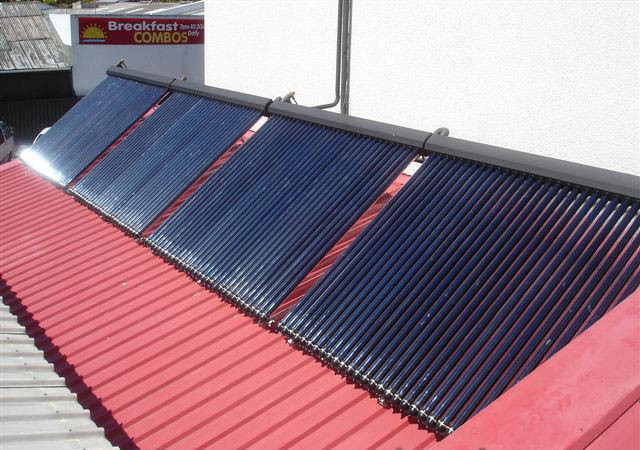 European Solarkeymark Heat Pipe Solar Thermal System