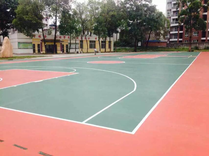 China non pollution sports flooring acrylic paint for for Sport court paint
