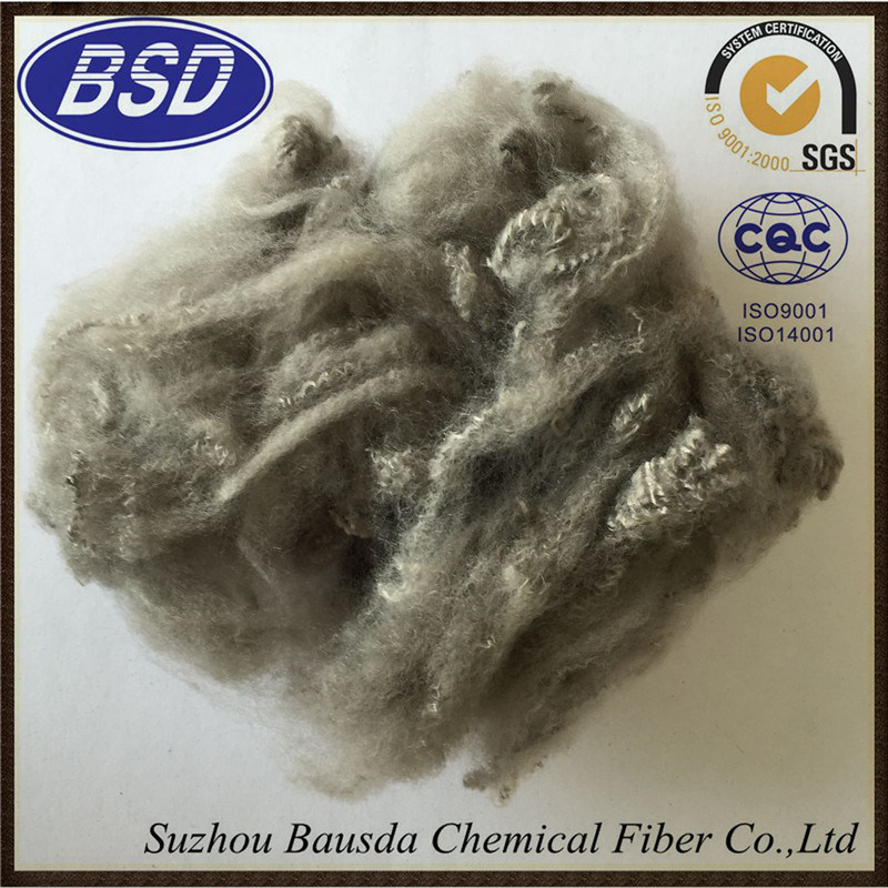 7D Pillow Filling Material Colored Polyester Staple Fiber PSF