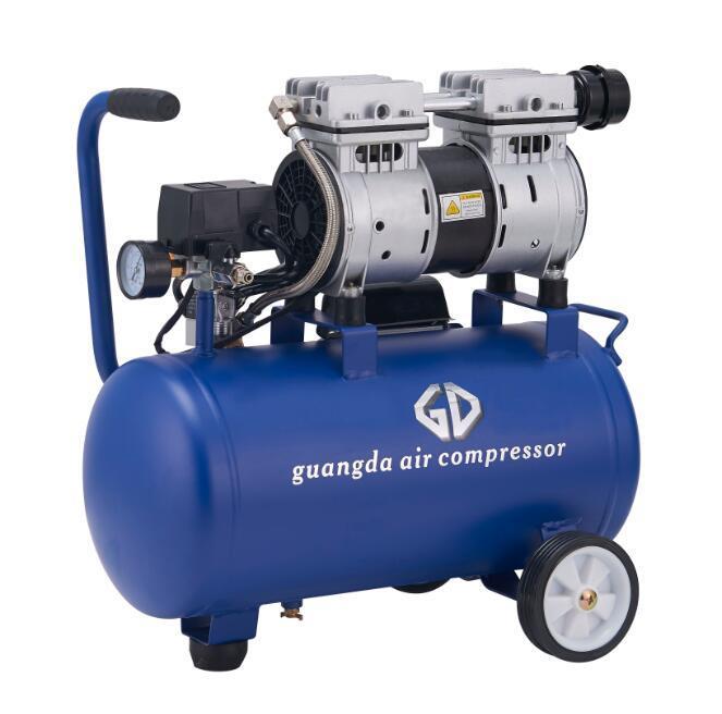 550W 24L 8bar Oil Free Air Compressor (GDG24)