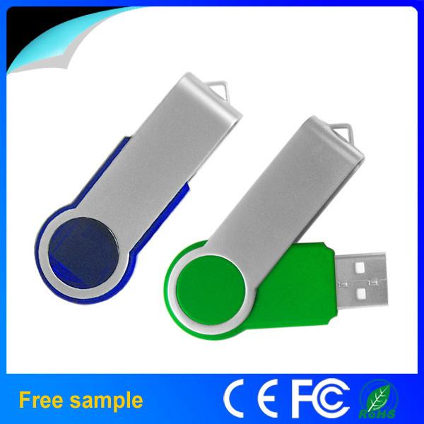 Promotional Gift Thumb Drive Twist USB 2.0 Flash Disk