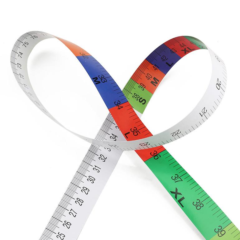 Promotion Custom Medical Disposable Printing Paper Medical Measuring Tape