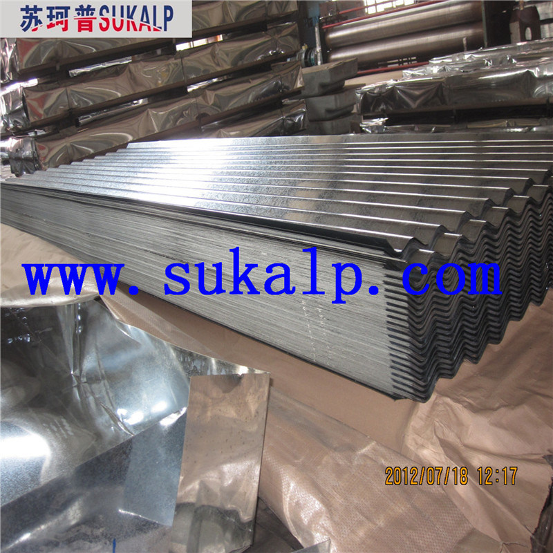 Hot Dipped Prepainted Galvanized Corrugated Steel Roofing Sheet