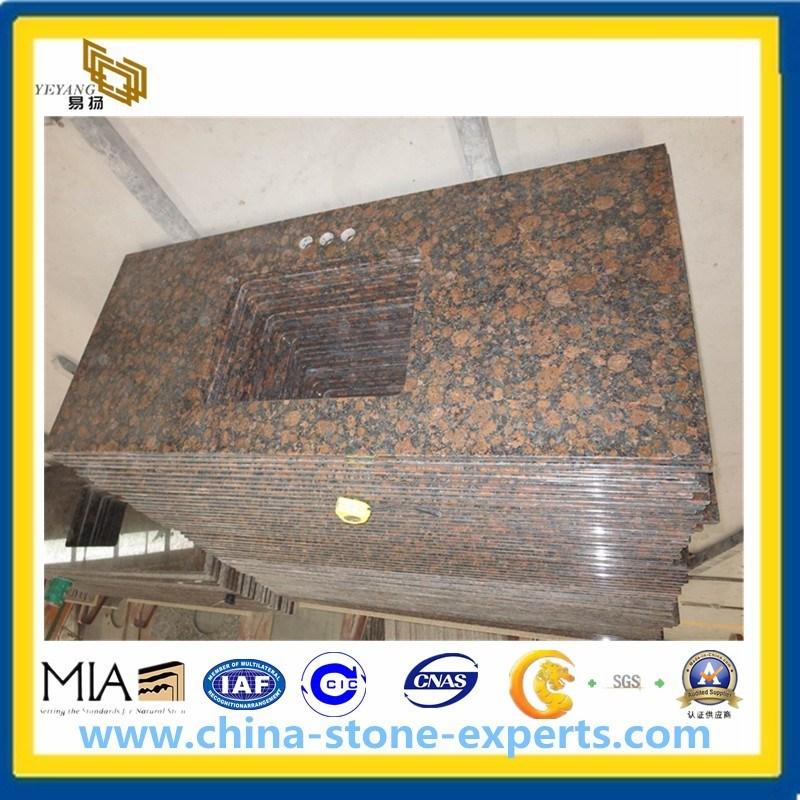Baltic Brown Granite Vanity Top and Countertop for Kitchen