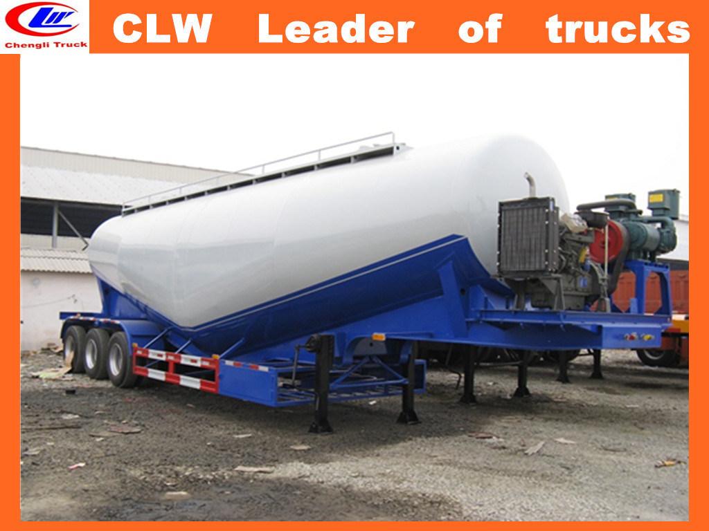 Factory 30 Tons Bulk Cement transportation Semi Trailer