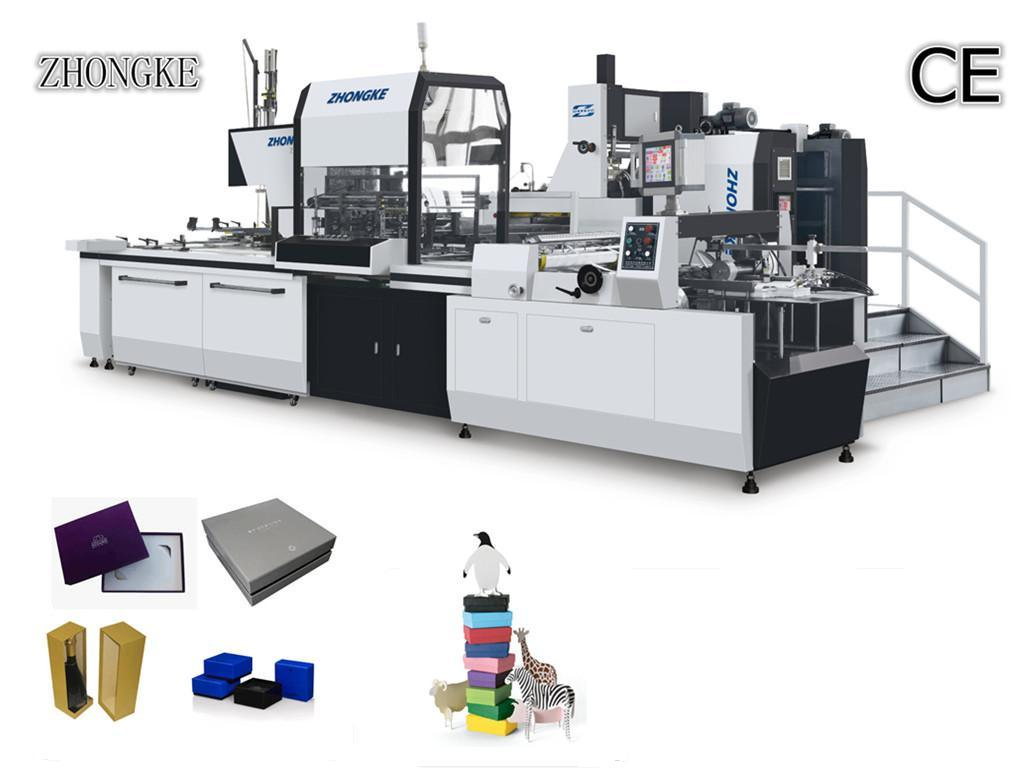 Paper Box Making Machine (ZK-660A) Supplier