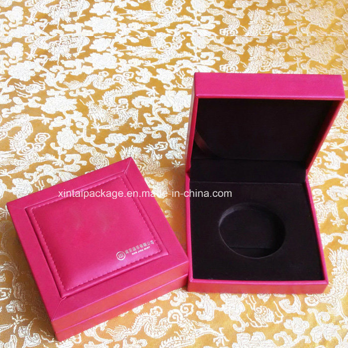 Plastic Gold Coin Box with PU