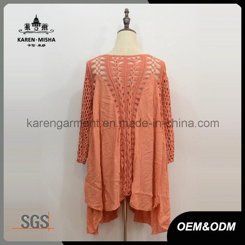 Ladies Handmade Crochet Plus Size Clothing