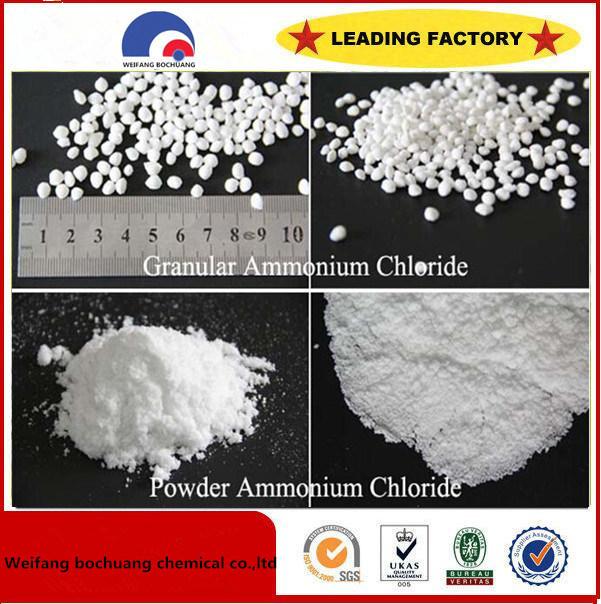 Industrial Grade Agricultural Grade Ammonium Chloride