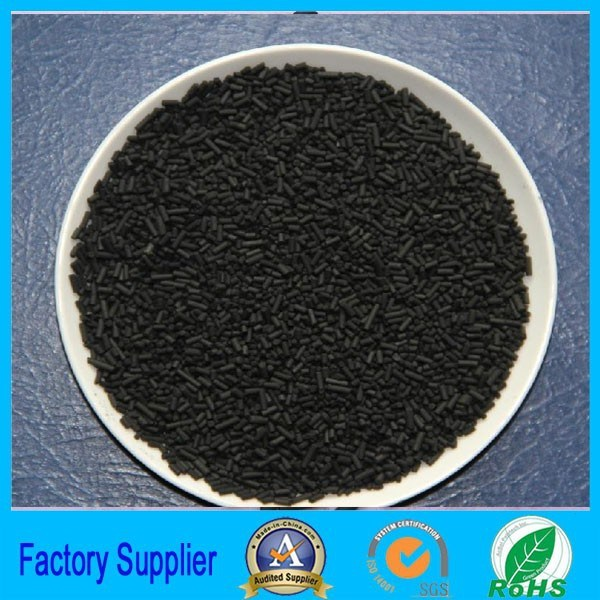 Adsorbent Cylindrical Activated Carbon black N330 for Waste Gas Treatment