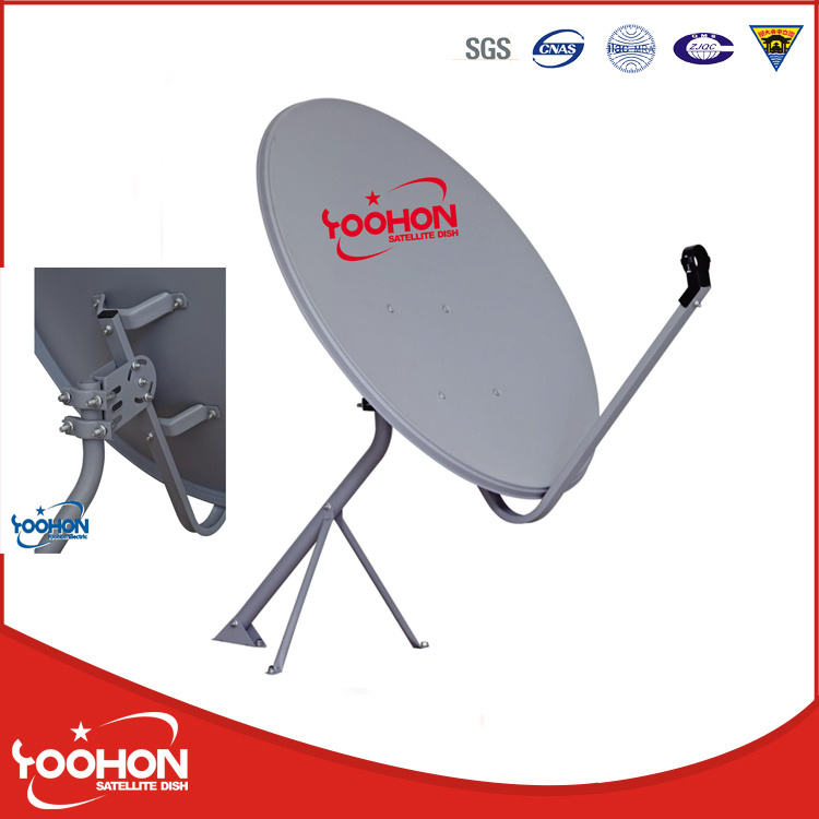 90cm TV Signal Satellite Dish with SGS Cetificate