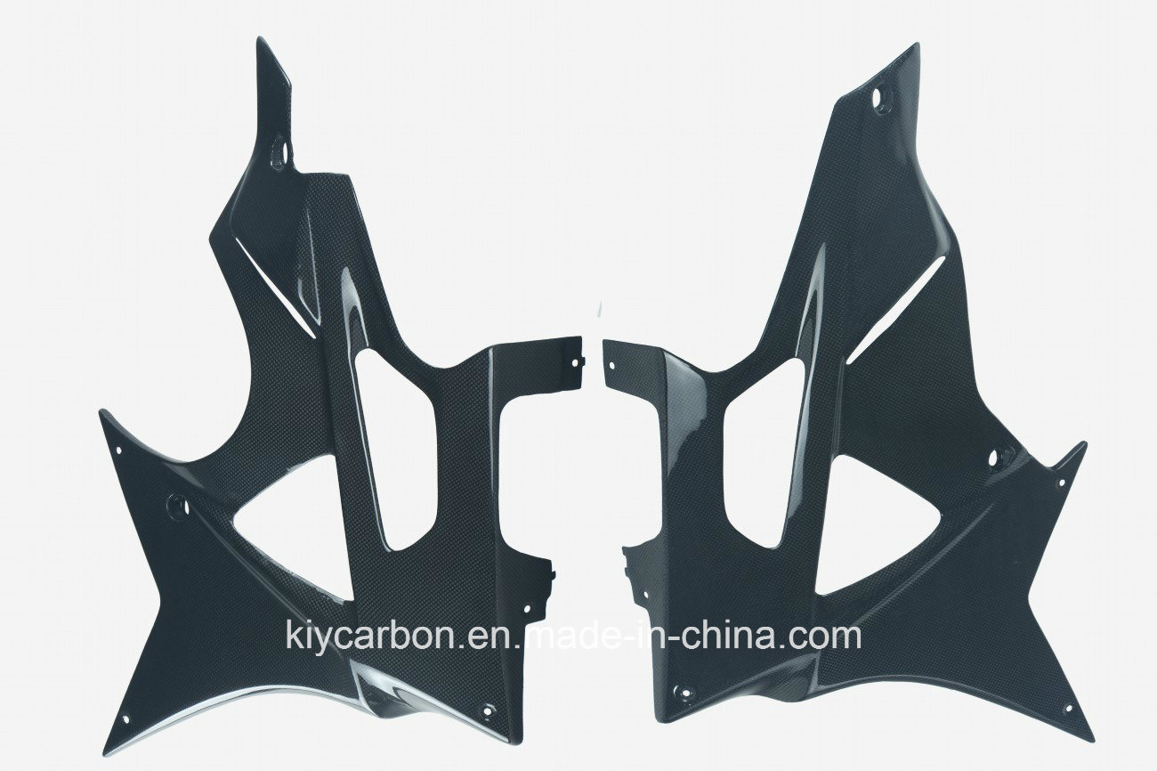Carbon Fiber Motorcycle Parts Side Fairings