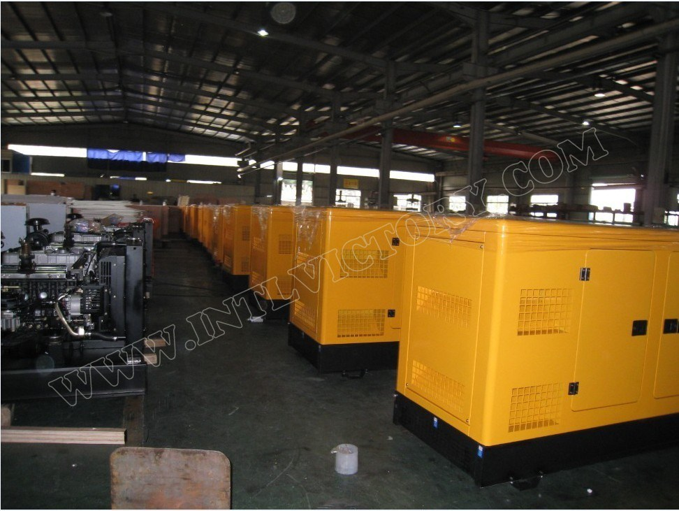 7kVA-2500kVA Diesel Engine Generator Set with UK Brand Perkins Engine