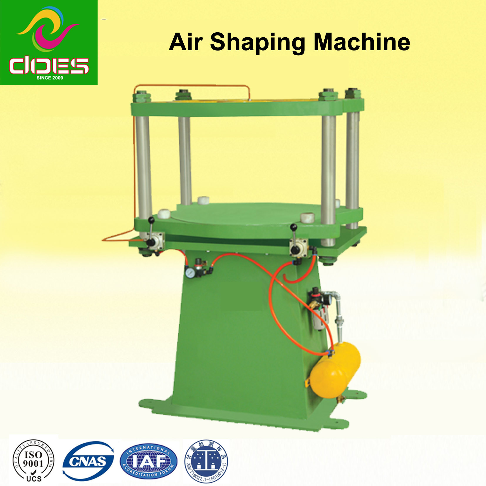 Air Forming Rubber Tire Machine for Curing Type