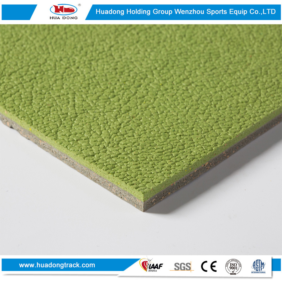 Indoor Outdoor Stadium Surface Rubber Sports Flooring Mat