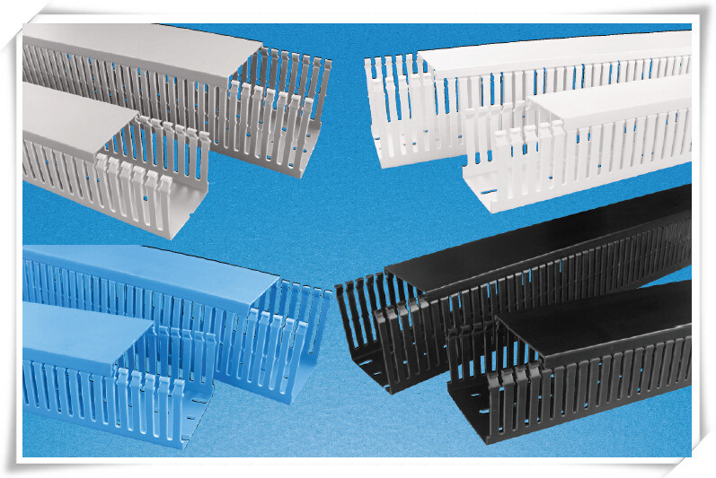 PVC Gray Wire Ducts Slotted Wire Trunking