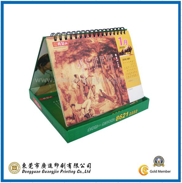 Customized Desk Paper Calendar (GJ-Calendar004)