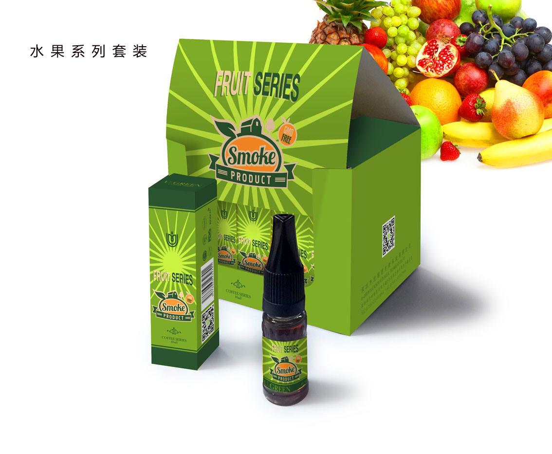 GMP Factory Premium E Liquid with High Vg and Organic Aroma