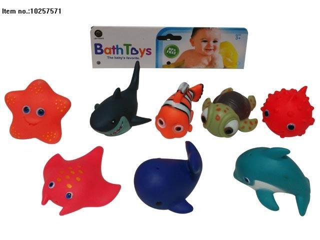 Soft PVC Toys of Water Spray Bath Toy for Kids