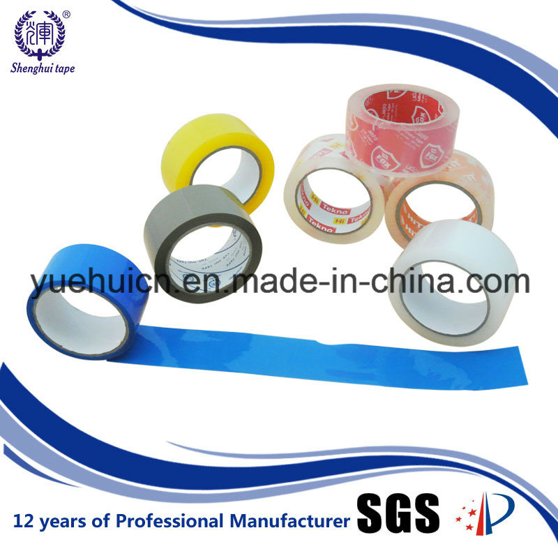 Brown and Yellowish Transparent BOPP Packing Tape