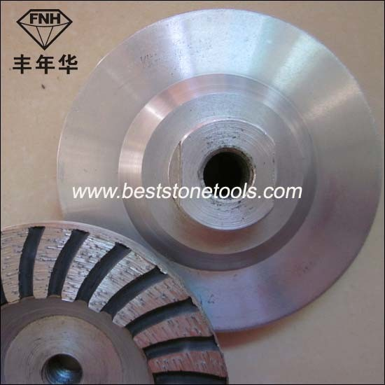 Cw-1 Turbo Aluminum Core Cup Diamond Grinding Wheel for Concrete