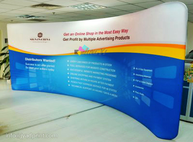 Aluminum Pop up Ez-Tube Tradeshow/Exhibition Backdrop Banner Display