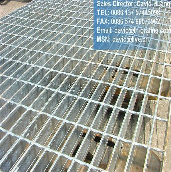 Galvanized Stock Grating Panels for Grating Floor and Drain Cover