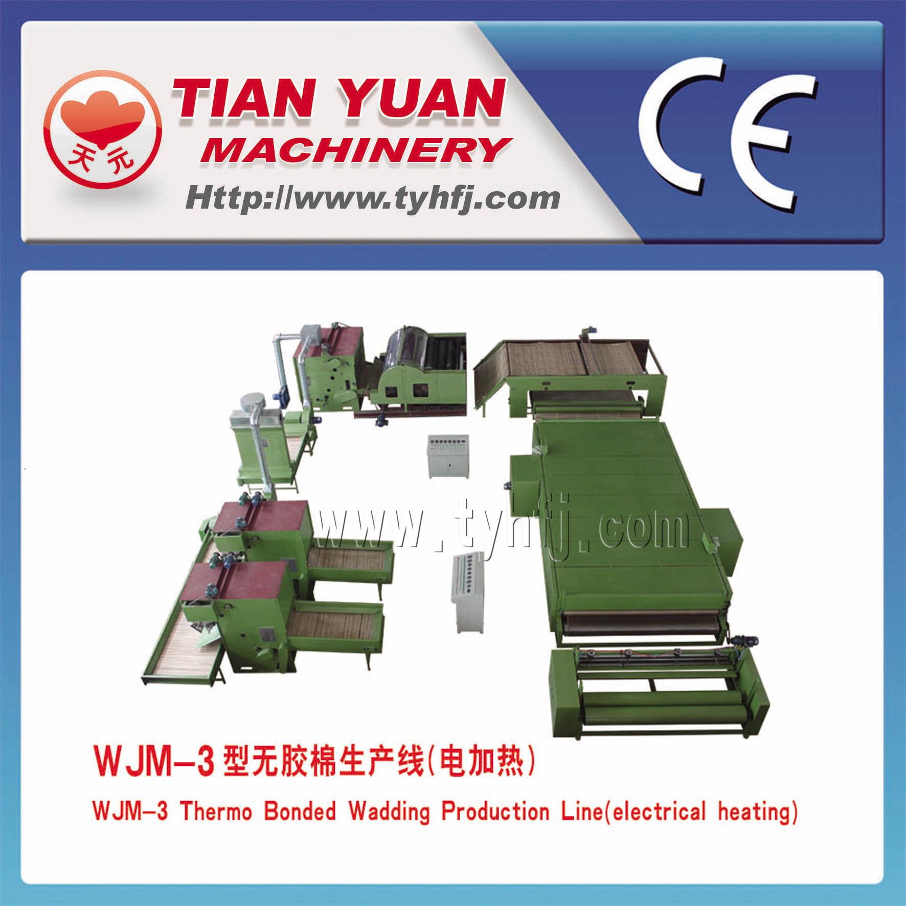 Nonwoven Mattress Wadding Making Machines