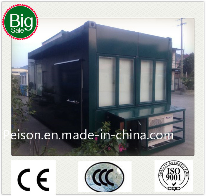 Low Pay Convenient Mobile Prefabricated/Prefab Coffee House/Bar