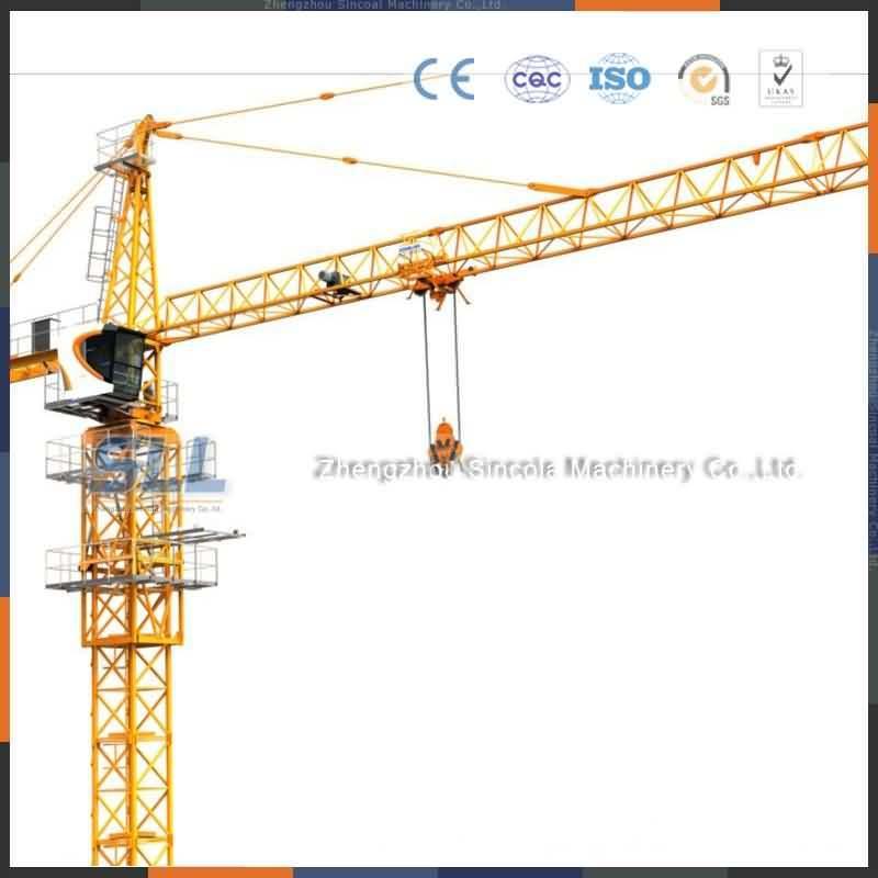 China 5610 Tower Crane/Used Tower Crane/Tower Crane Design