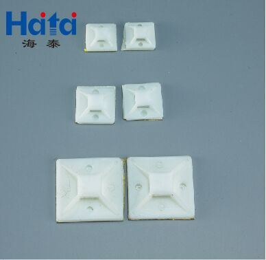 Back Adhesive Tie Mount, Cable Tie Mounts