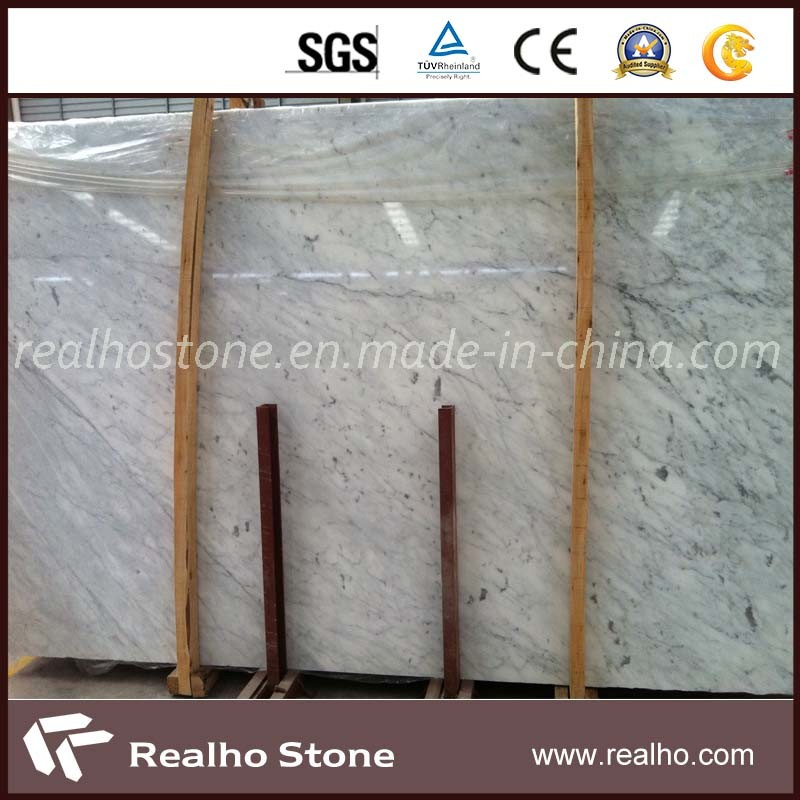 Polished Carrara White Marble Slab for Wall/Flooring/Countertop