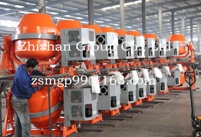 CMH500 (CMH50-CMH800) Portable Electric Gasoline Diesel Concrete Mixer