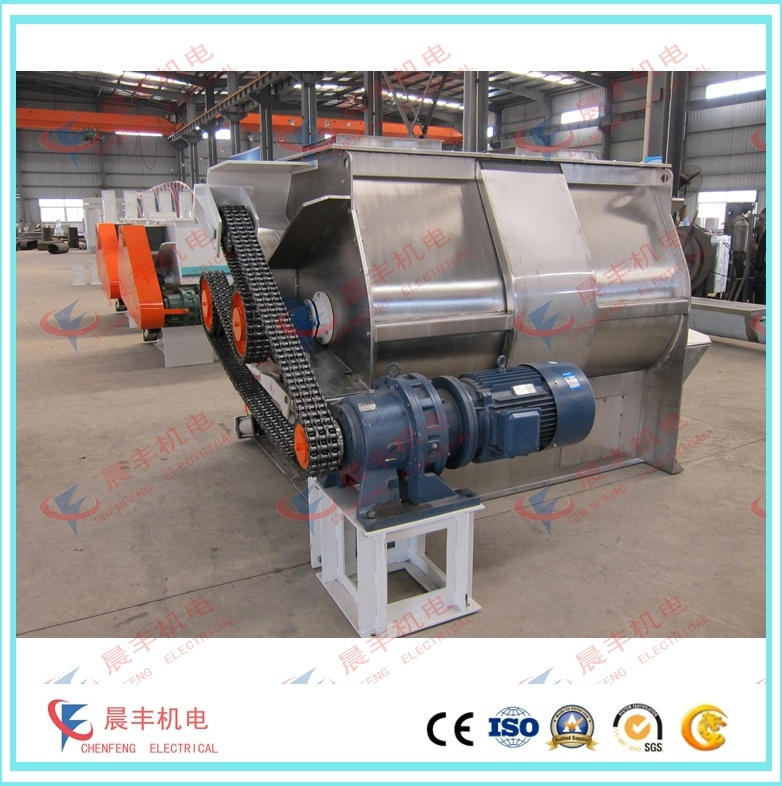 Paddle Mixer Feed Mixing Machine with Stainless Steel