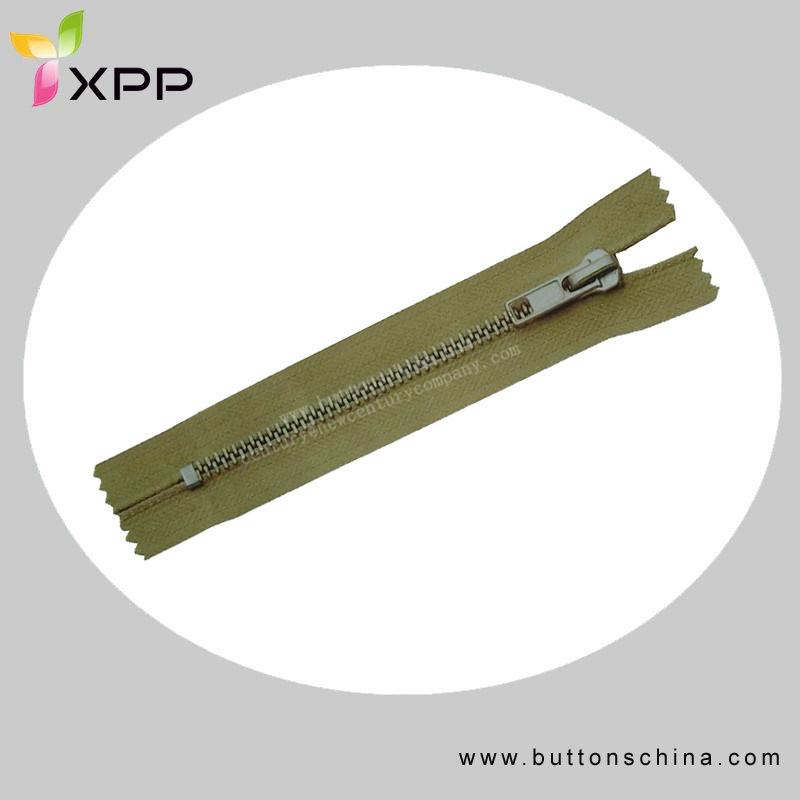#3 Metal Brass Garment Zipper C/E