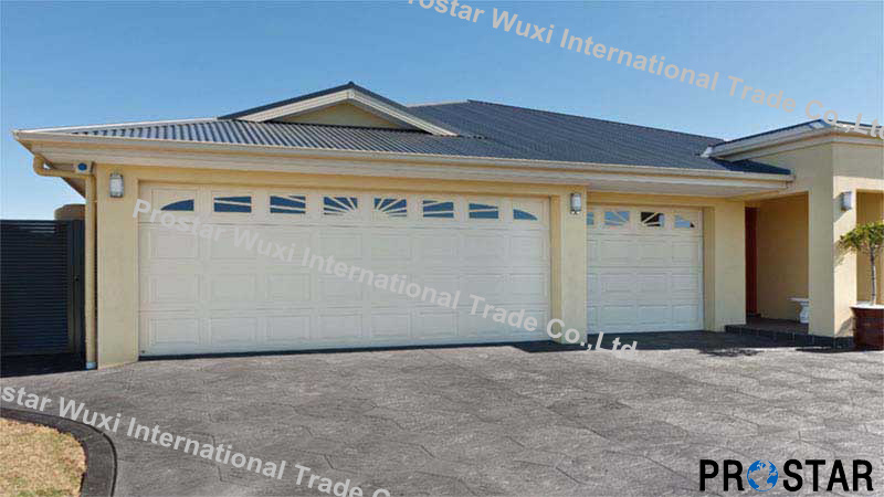 CE Approved Automatic Sectional Garage Doors