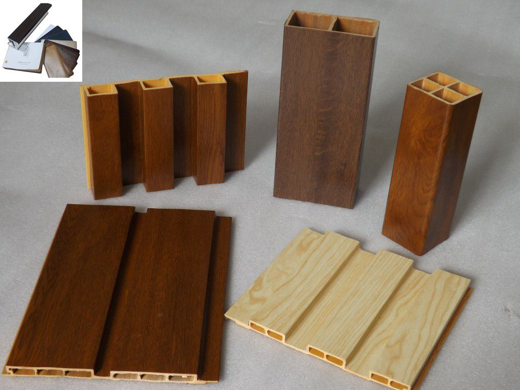 Anti-UV Wooden Grain PVC Film