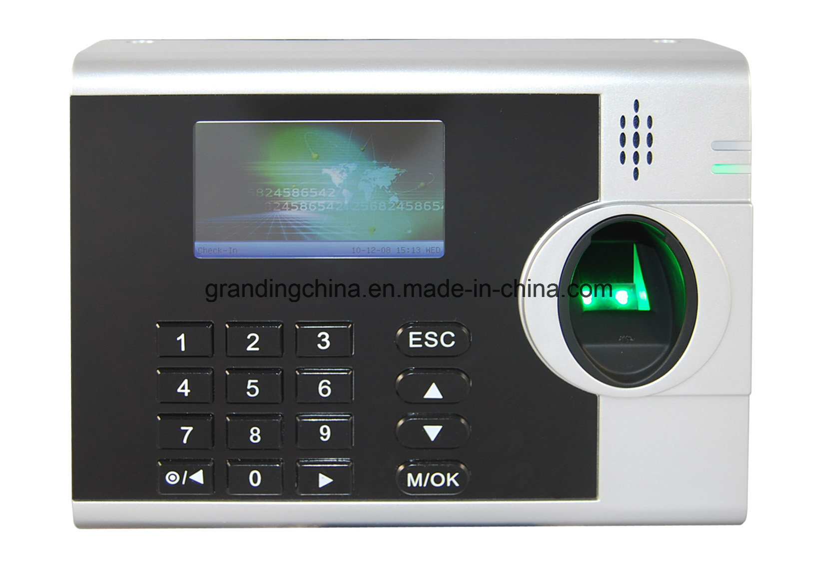 Fingerprint Time Clock with TFT Color Display (3000T-C)
