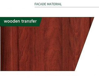 Wooden Transfer PVC Doors with High Quality and Moderate Price